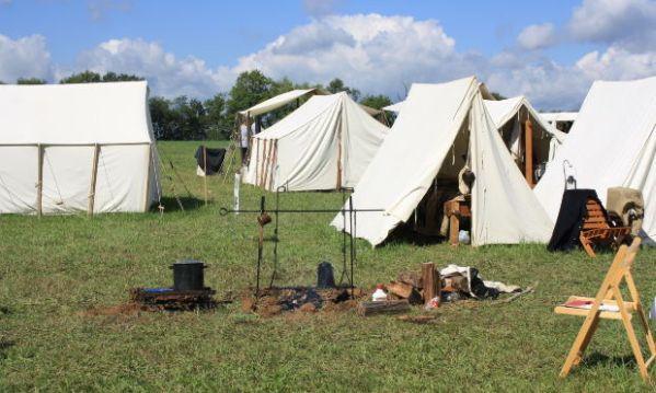 táborová kuchyně, brigada