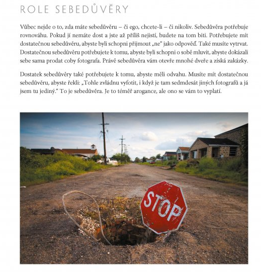 O tom jak důležitá je role sebedůvěry při fotografování Foto: Archiv: Computer Press