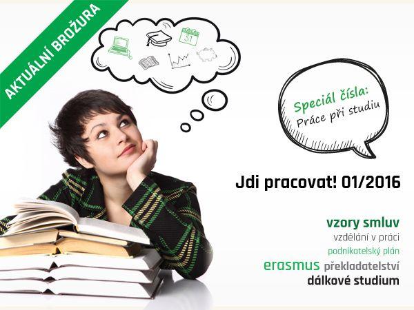 brožura jdi pracovat, tištěný časopis, Brno, práce, 11. číslo