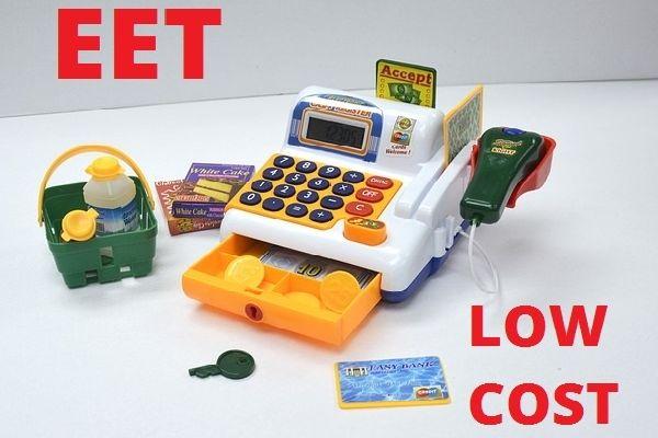 eet levně, nízkonákladové eet, eet zadarmo, elektronická evidence tržeb