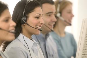 Brigáda v call centru. Foto: MS Office