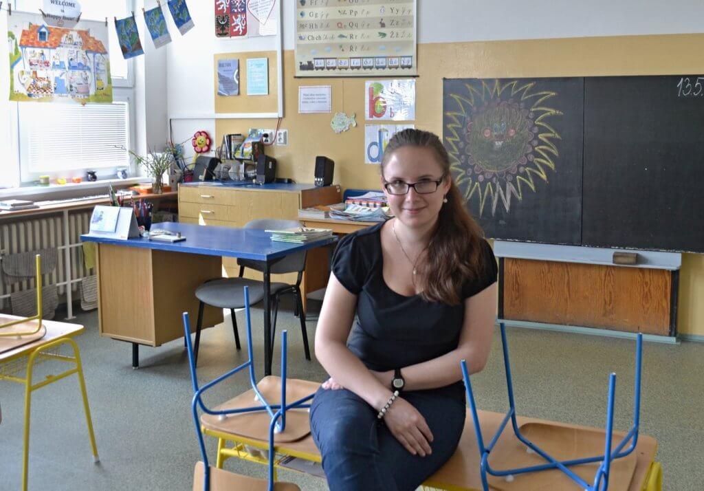 Výuka vtandemu je zajímavá práce apro začínajícího učitele velmi přínosná. Foto: Archiv Lucie Říhové.